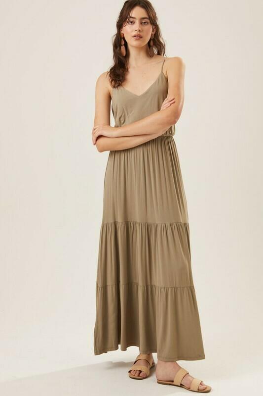 Madelyn Dress-Olive
