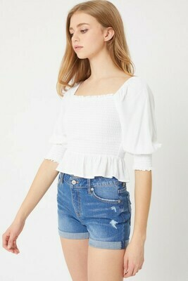 Gabby Blouse-White