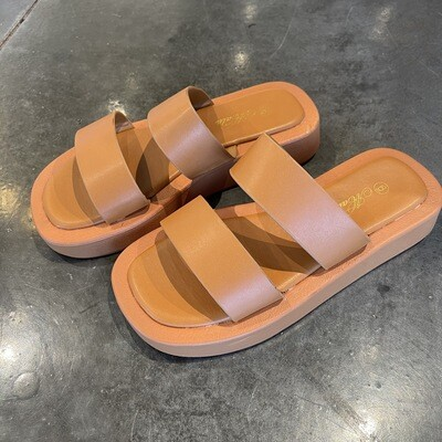 Jolie Slide-Tan