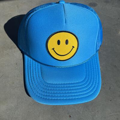 Smile Hat-Blue