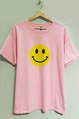 Happy Day Tee-Pink