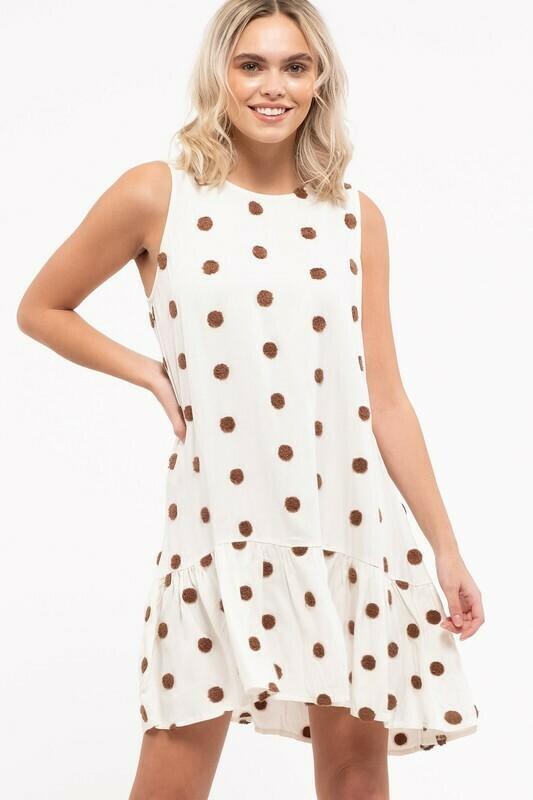 Daniella Dot Dress