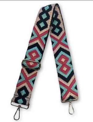 Aztec Strap-Turq