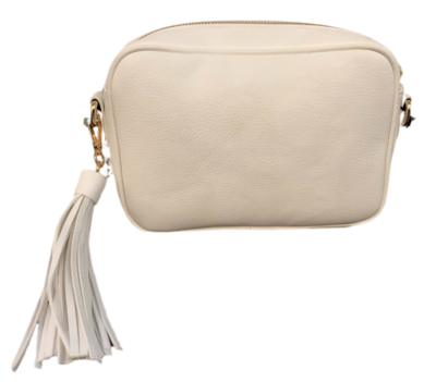 Tassel Bag-Wht