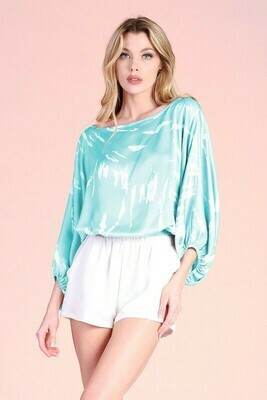 Mint To Be Off Shoulder