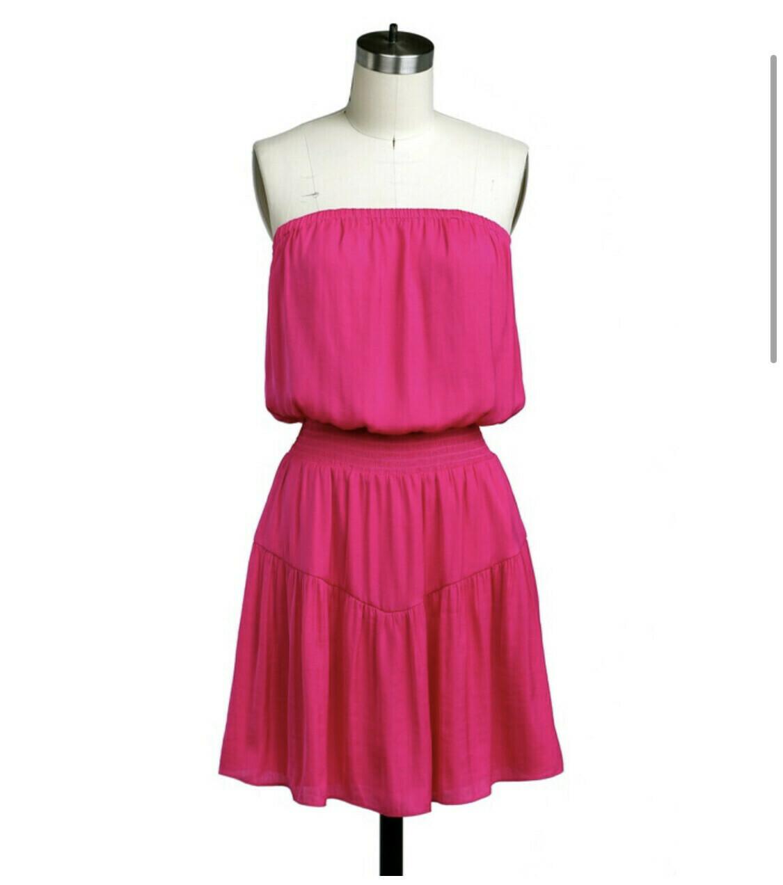 Whitney Dress-Pink