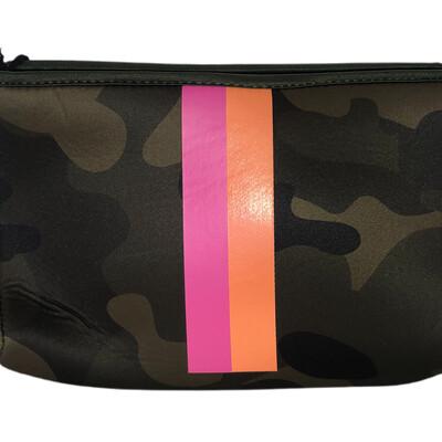 Neoprene Camo-Pink Stripe