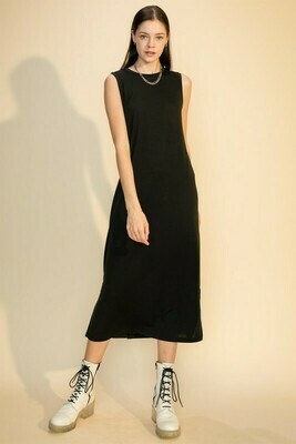Mid Day Dress-Blk