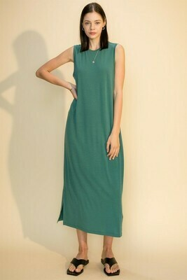 Mid Day Dress-Teal