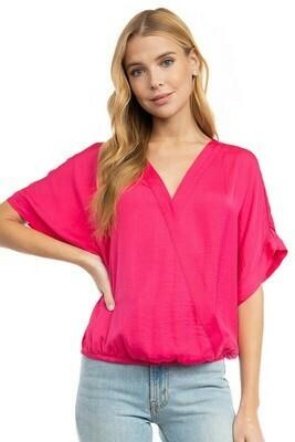 Andie Blouse-Pink
