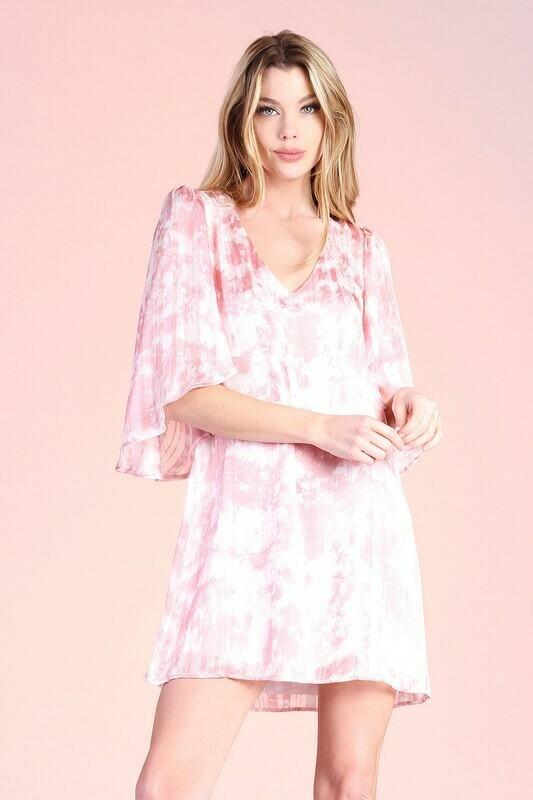 Cotton Candy Dress-Mauve
