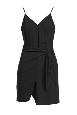 Wrapped Up Dress-Blk