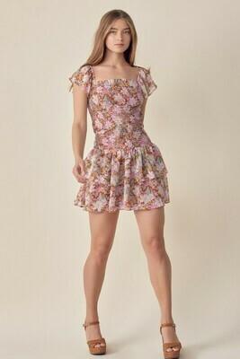 Julia Floral Dress