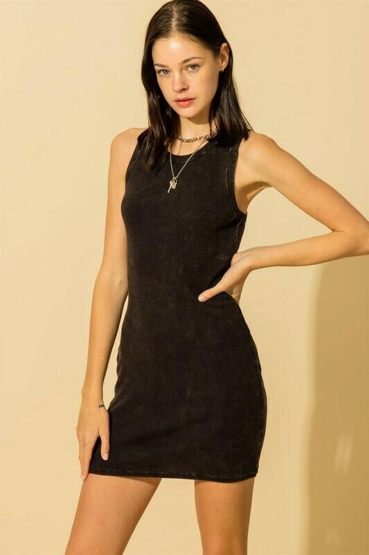 Bodycon Dress-Blk