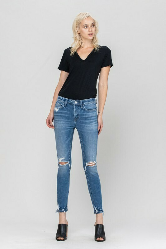 Whitney Mid Rise Crop