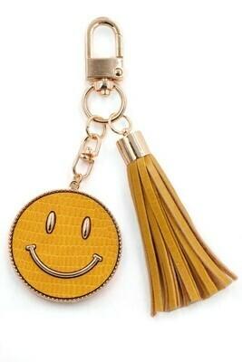 Happy Days Keychain-Yellow