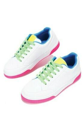 Neon Lights Sneaker-Pink