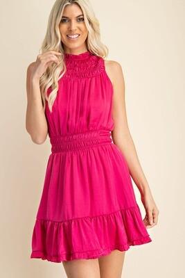 Sabra Dress-Pink