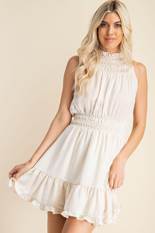 Sabra Dress-Ecru
