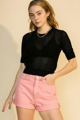 Summa Sweater-Blk