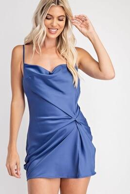 Lanie Dress-Blue
