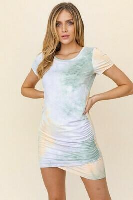 Amanda Tie Dye Dress