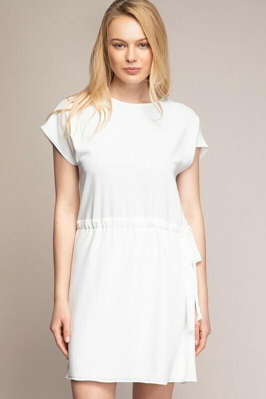 Blake Dress-White