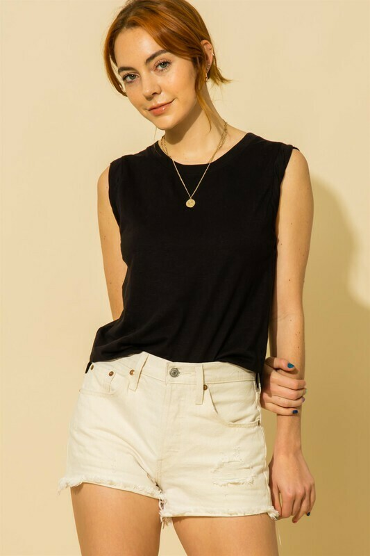 Muscle Tee-Blk
