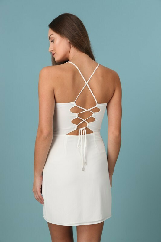 Beth Tie Back Dress