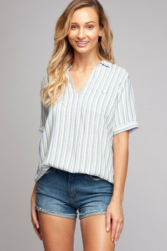 Blue Waters Blouse