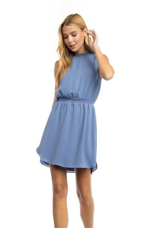 Sara Beth Dress-Blue