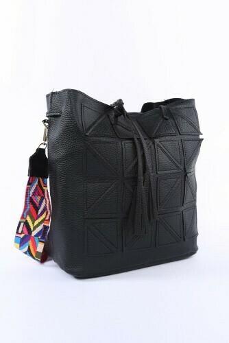 Bucket Bag-Blk