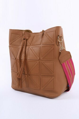 Bucket Bag-Brn