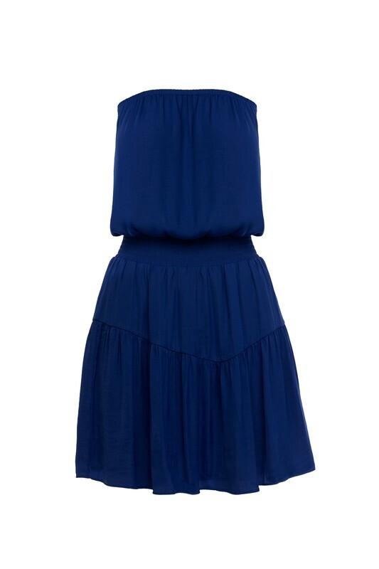 Whitney Dress-Navy