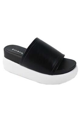 Sky Hi Platform Sandal-Blk