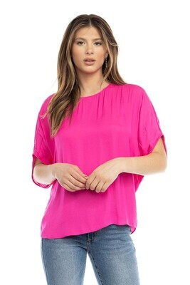Silky Dolman-Pink