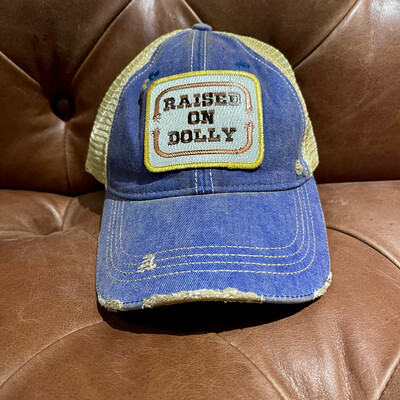 Raised On Dolly Hat-Blue