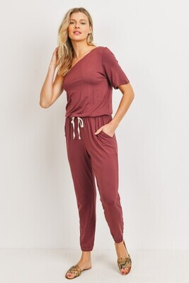 One Sided Jumper-Red