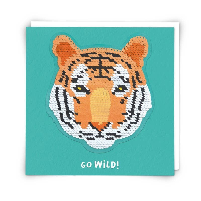 Tiger Patch Card