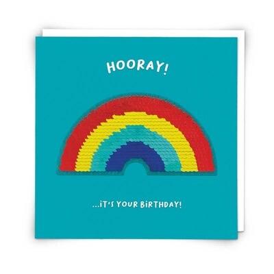 Rainbow Patch Card