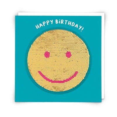 Smiley Patch Card