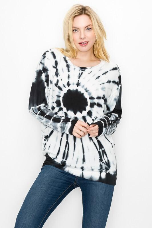 Swirl Tie Dye Pullover