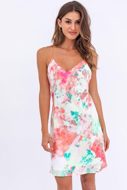 Breanna Tie Dye Dress