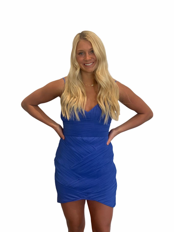 Serena Dress-Blue