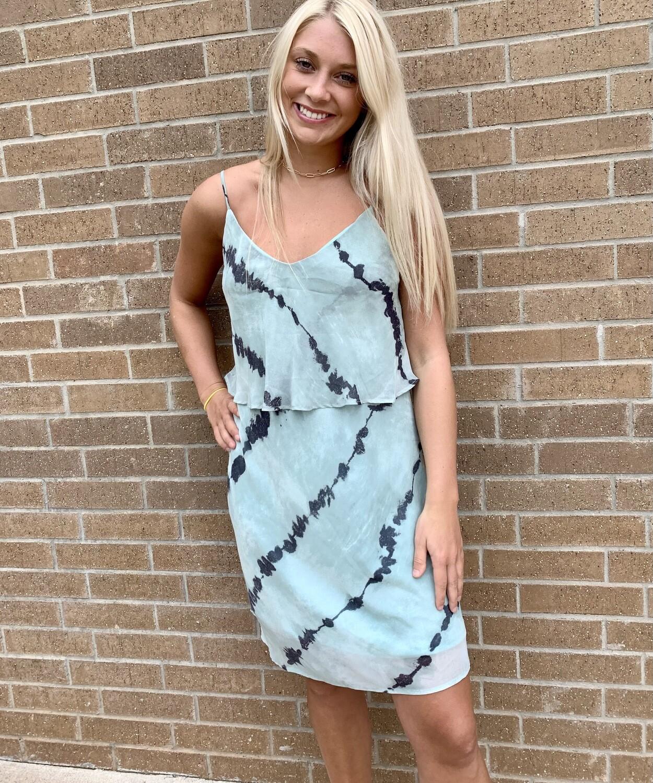 Tie Dye Sabrina Dress