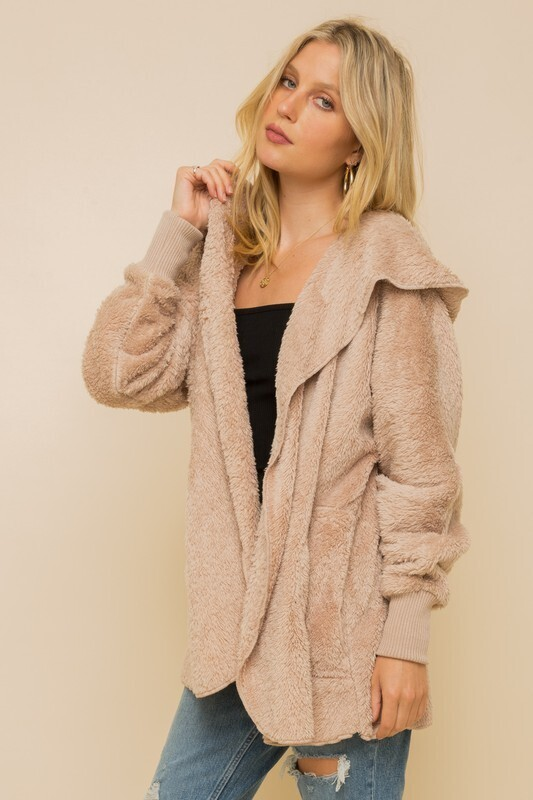 Solid Snuggie-New Taupe