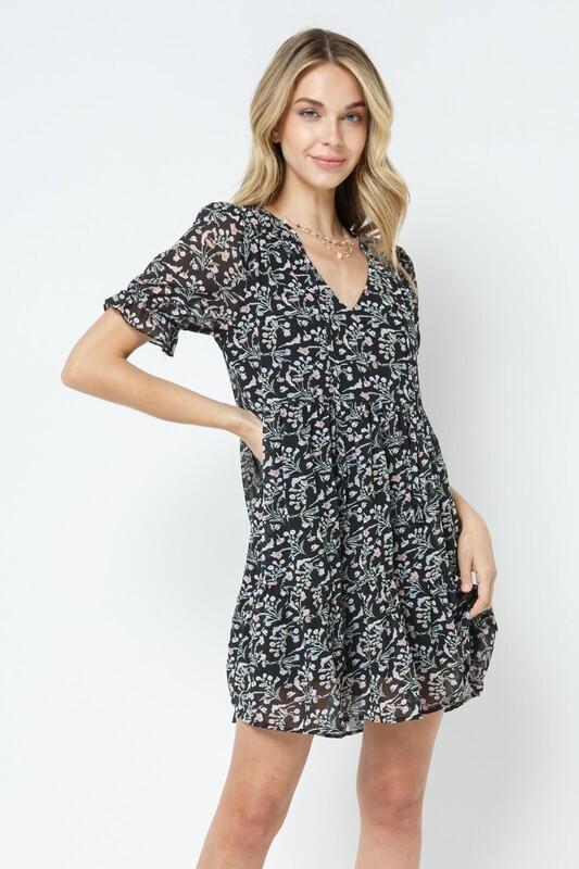 Shaylee Dress-Blk