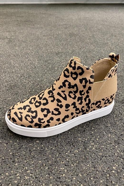 Elva Hi Top-Leopard