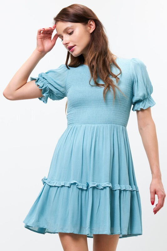 Baby Baby Dress-Blue