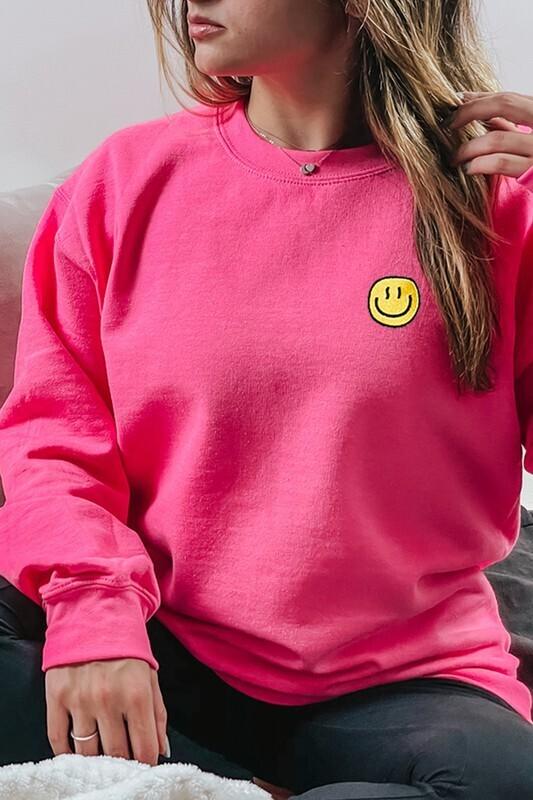 Happiest Pullover-Neon